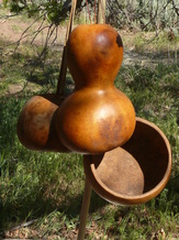 Gourd Containers Workshop at at True Nature Farm - Sustainable Living & Wilderness School, Boulder, Utah